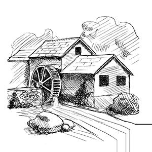 Le Moulin : Gite insolite à Saint-Émilion