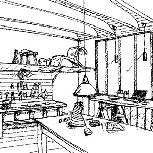 L'Atelier du Domaine Jean Got : Gîte à Saint-Émilion, chambre insolite