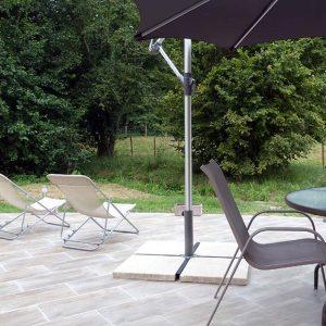 L'Atelier du Domaine Jean Got : Terrasse